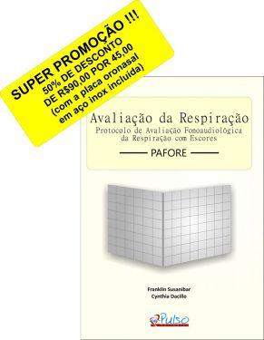 Avaliação da Respiração (com a placa oronasal em aço inox incluída)